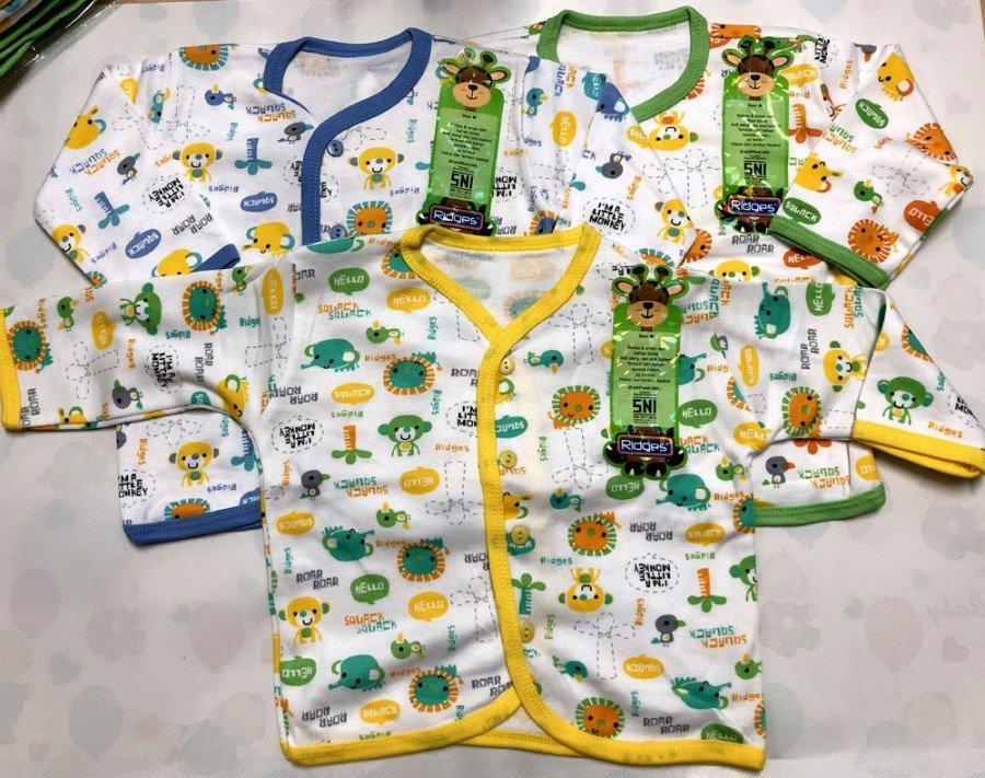 Baju Baby Panjang Ridges L Animal Sounds 19030013