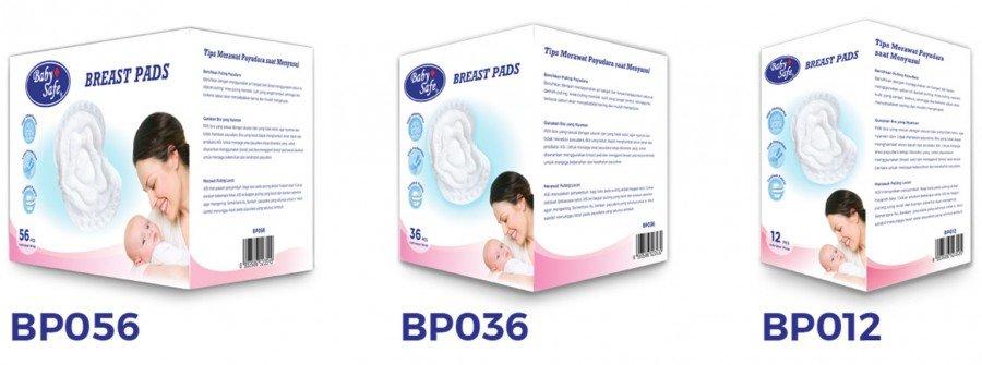 Breast Pad Baby Safe 36 pcs