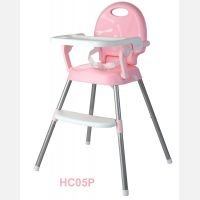 Baby Safe High Chair 3 in 1 Pink 19030046