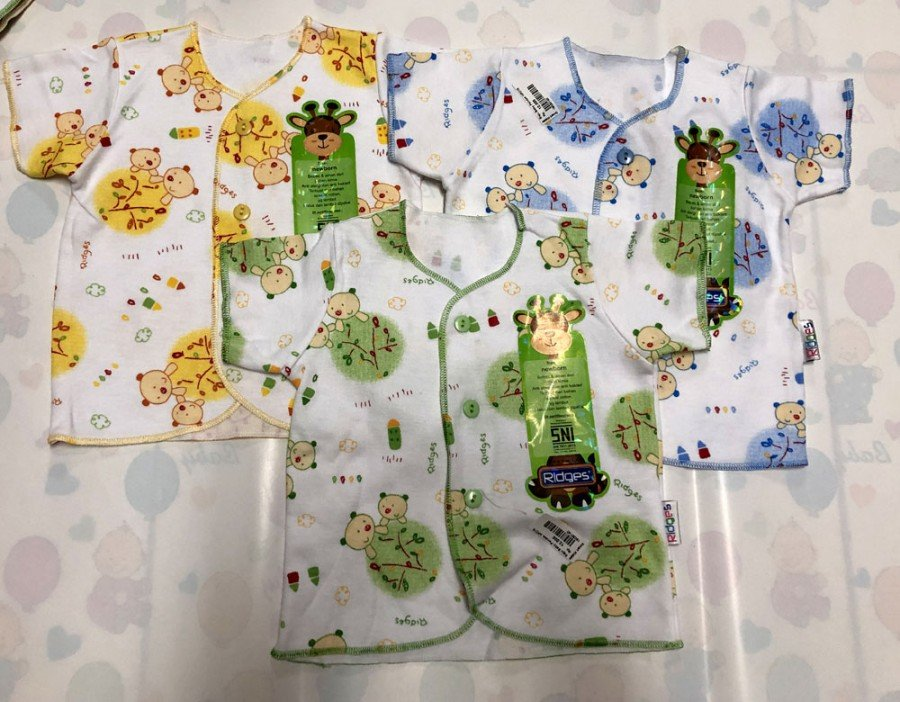 Baju Baby Pendek Ridges Newborn Tree and Bears 19030140