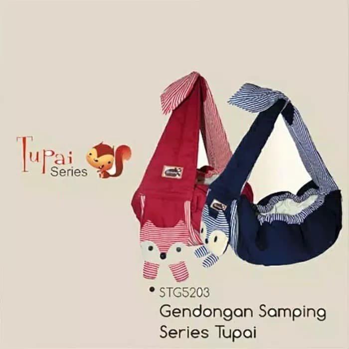 Gendongan Bayi Samping Tupai Series Snobby STG5203 - Maroon 19030130