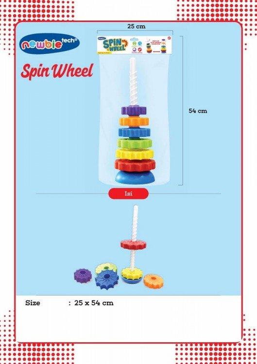 Mainan Newbie Spin Wheel 19030132