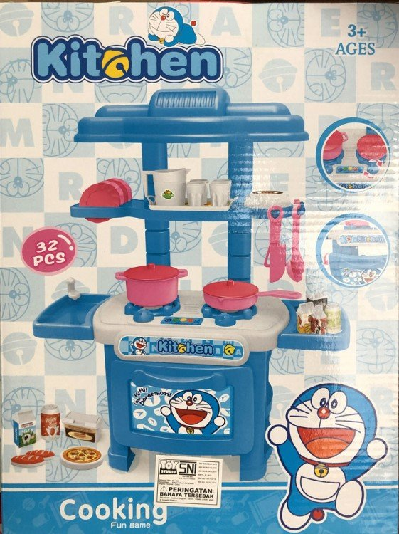 Mainan Kitchen Set Cooking Fun Game 19030162