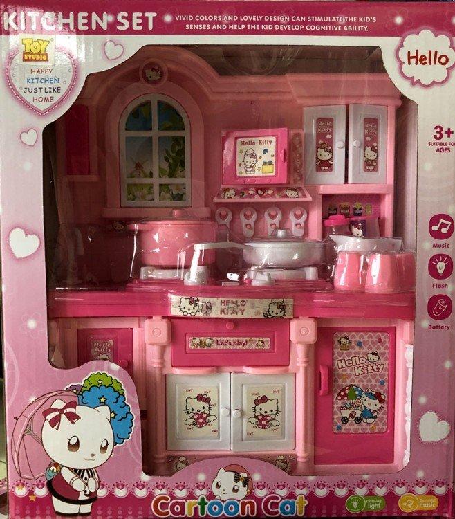 Mainan Kitchen Set Hello Kitty 19030166