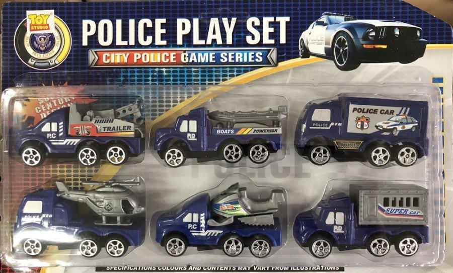 Mainan Police Car Set 19030177