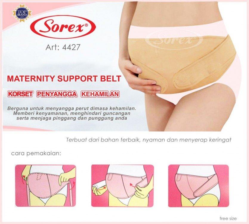 Korset Peyangga Kehamilan / Maternity Belt Sorex 19030179