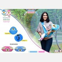 Gendongan Bayi Samping Pinguin Series Avalands AVG1001 - Biru 19040029