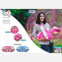 Gendongan Bayi Samping Pinguin Series Avalands AVG1001 - Pink 19040030