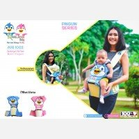 Gendongan Bayi Hipseat Pinguin Series Avalands AVG1002 - Blue 19040032
