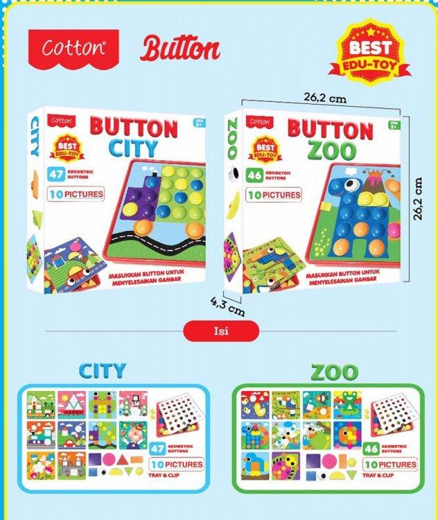 Mainan Cotton Button Zoo 19040043