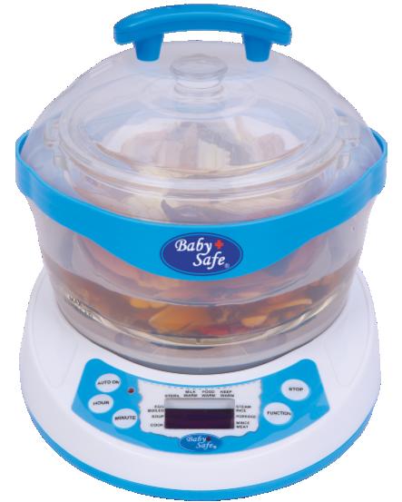 Baby Safe 10 in 1 Multifunction Steamer / Sterilizer
