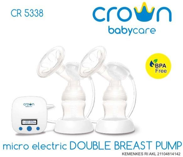 Pompa Asi Crown Micro Electric Double Breast Pump CR5338