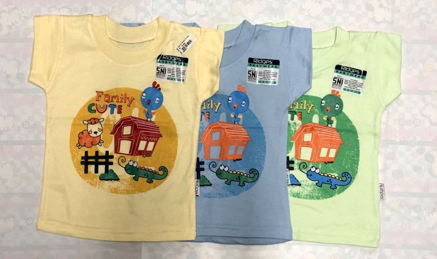 Atasan Kaos Ridges Family Cute XL 19050046