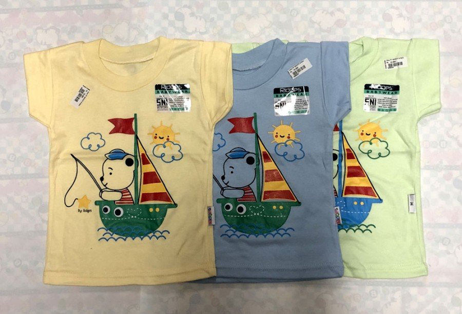 Atasan Kaos Anak Ridges Sailor L 19050041