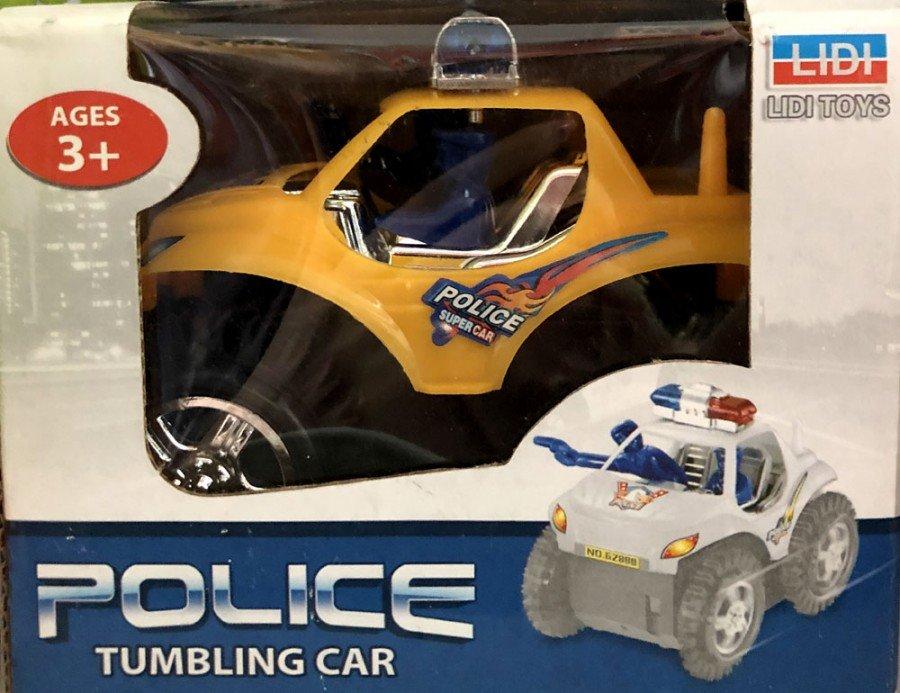 Mainan Police Tumbling Car 19050098