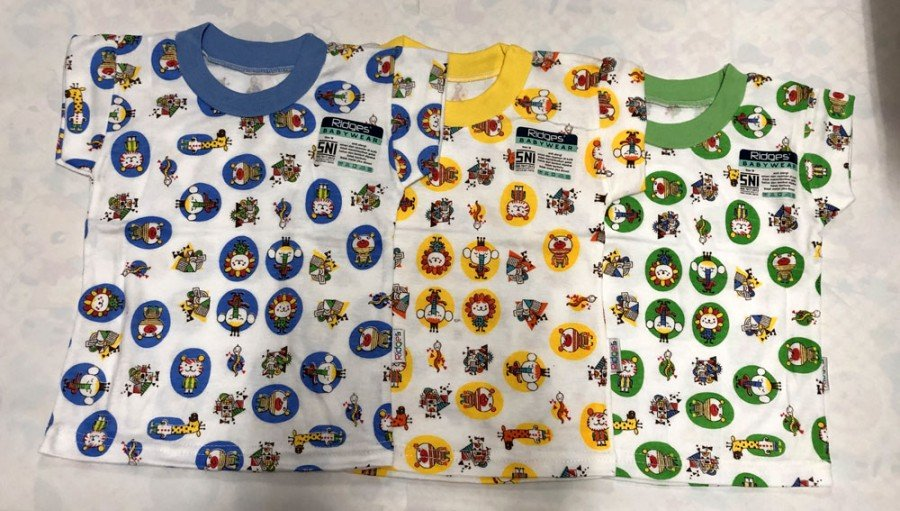 Atasan Kaos Anak Ridges Badut Animals XL 19050154