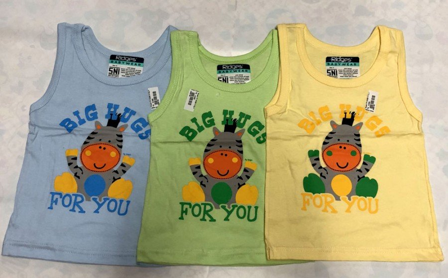 Singlet Anak Ridges Big Hugs For You L 19050141