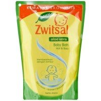 Zwitsal Aloe Vera Baby Bath Hair & Body Pouch 450ML