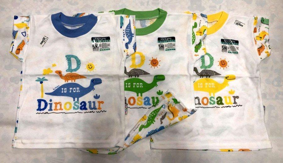 Atasan Kaos Anak Ridges D Dinosour XL 19050024