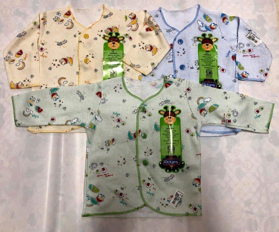 Baju Baby Panjang Ridges NewBorn Teddy Bears Rainbow 19050187