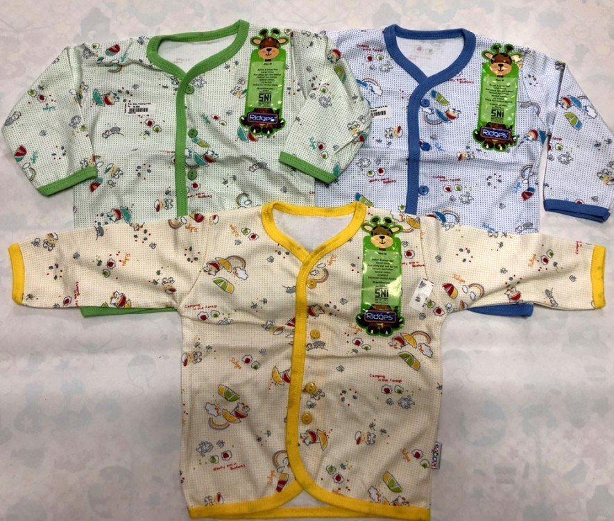 Baju Baby Panjang Ridges L Teddy Bear Rainbow 19050193