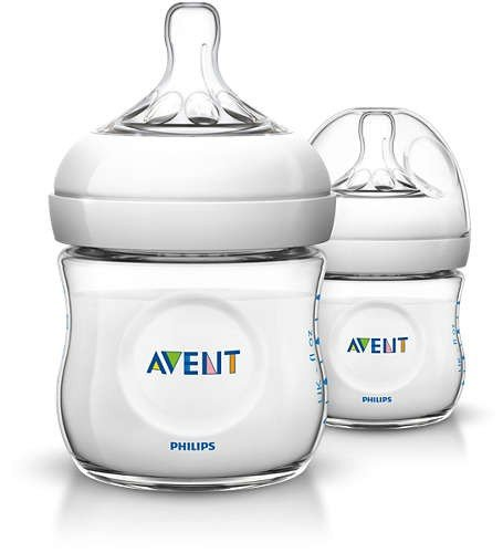 Botol Susu Philips Avent Natural  125ml Twin 19060024 (2 Botol)
