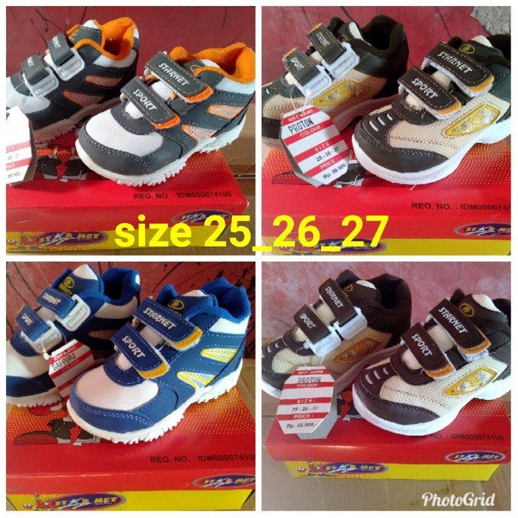 Sepatu Anak StarNet Gray 19060001