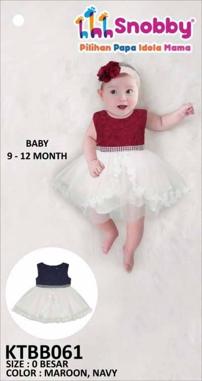 Terusan Gaun Bayi Snobby Ester 19060032