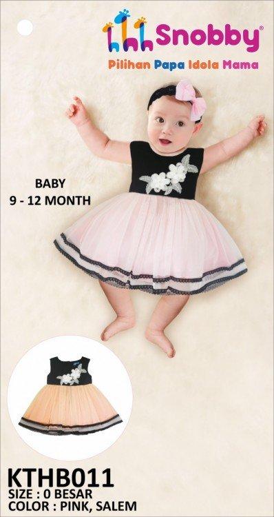 Terusan Gaun Bayi Snobby Evra 19060033