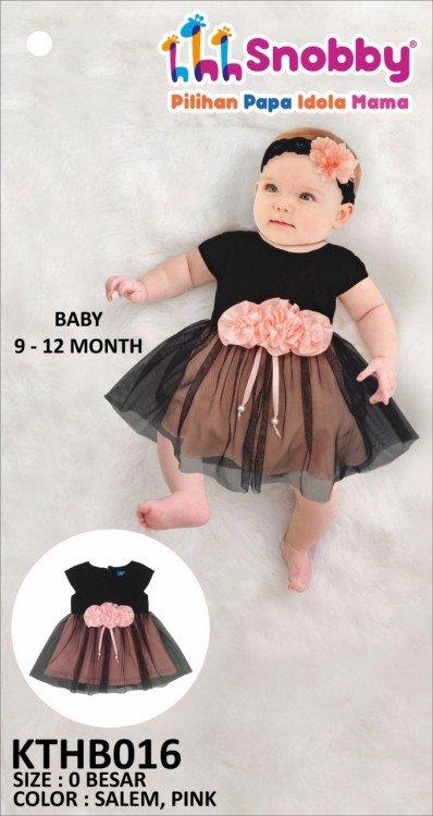 Terusan Gaun Bayi Snobby Ghea 19060031