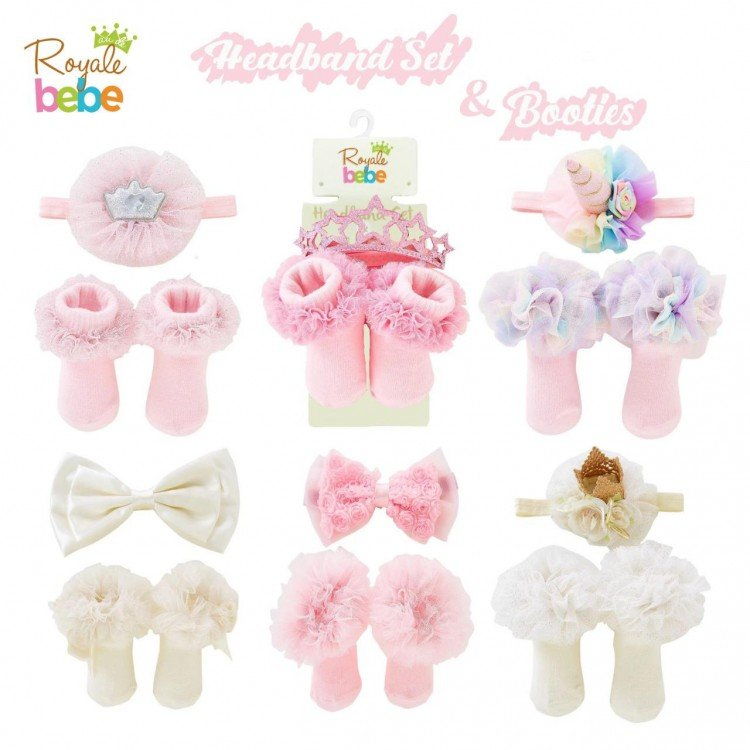 Kaos Kaki + Bandana Set Royal Bebe 19060045
