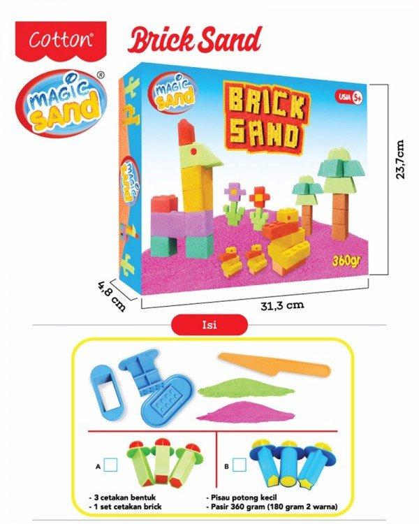 Fun Doh Magic Sand Brick Sand 19070001