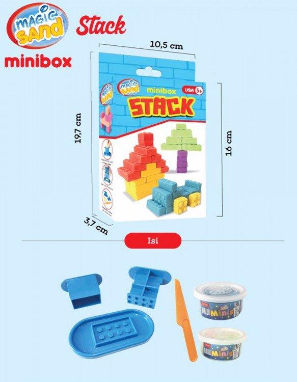 Fun Doh Magic Sand Minibox Stack 19070002