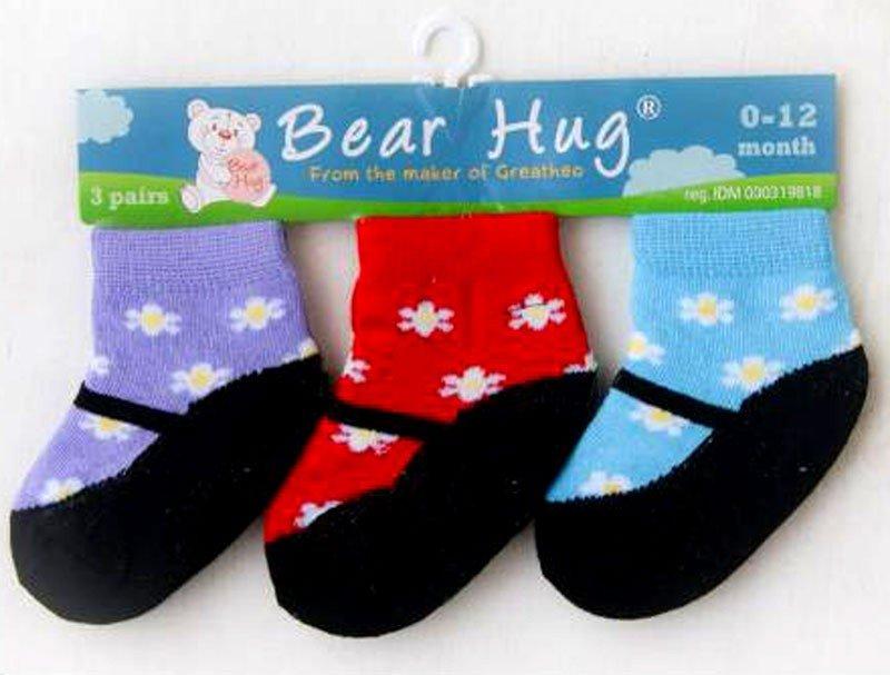 Kaos Kaki 3 In 1 Bear Hug 19070036