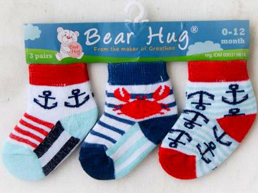 Kaos Kaki 3 In 1 Bear Hug 19070039