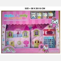 Mainan Rumah Happy Family Dream House 19070085