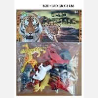 Mainan Wild Animals 12pcs 19070104