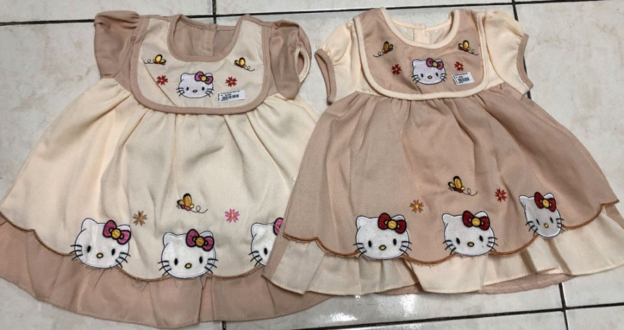 Setelan Baby Set Hello Kitty Coklat 19070173