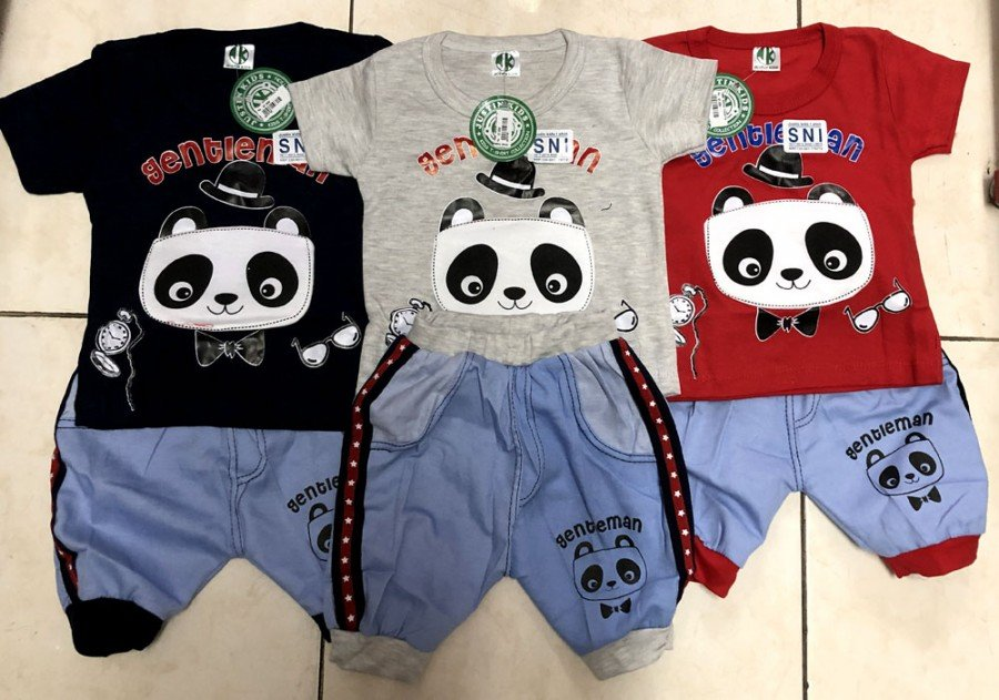 Setelan Cowok Panda 19070186