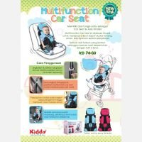Kiddy Multifuntion Baby Car Seat dan Alas Stroller