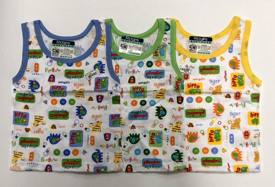 Singlet Anak Ridges Hippo Animal M 19070205