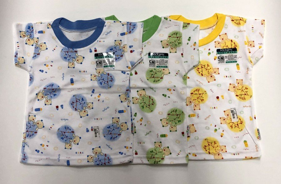 Atasan Kaos Anak Ridges Tree Bears M 19070050