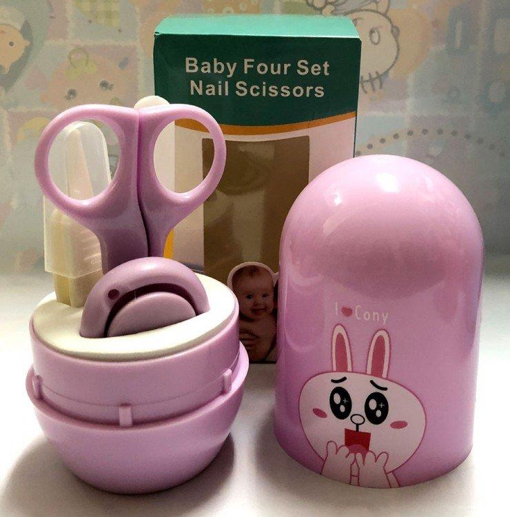 Gunting Kuku Bayi / Manicure Set Bayi Bunny Pink