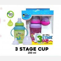 Training Cup Dodo 3 Stages Cup 200ml 19090061