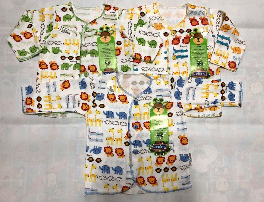 Baju Baby Panjang Ridges NewBorn Lion King 19090032