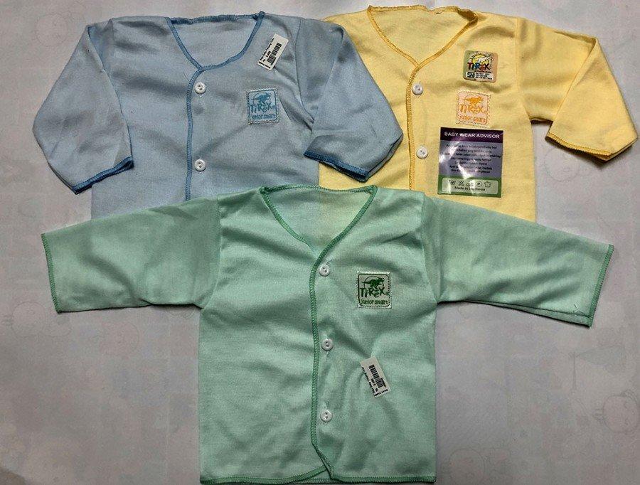 Baju Baby Panjang Newborn Polos Murah 19090046