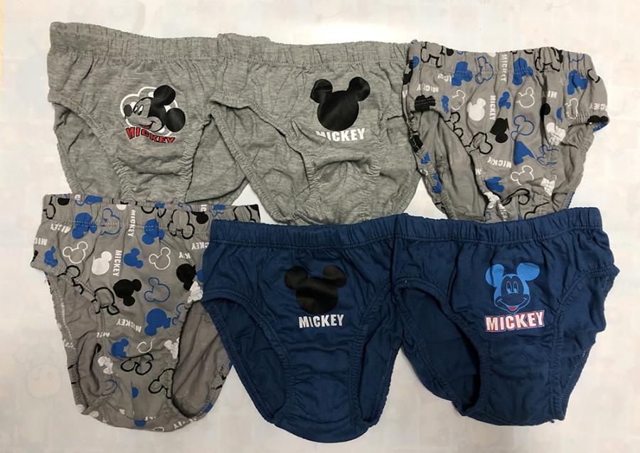 Celana Dalam Ridges Mickey Isi 6 Size XL 19080059