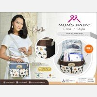 Moms Baby Cooler Bag Othello Series MBC7201 - Coklat 19090096