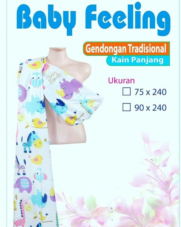 Gendongan Tradisional Kain Panjang (Cukin) Baby Feeling 19090099