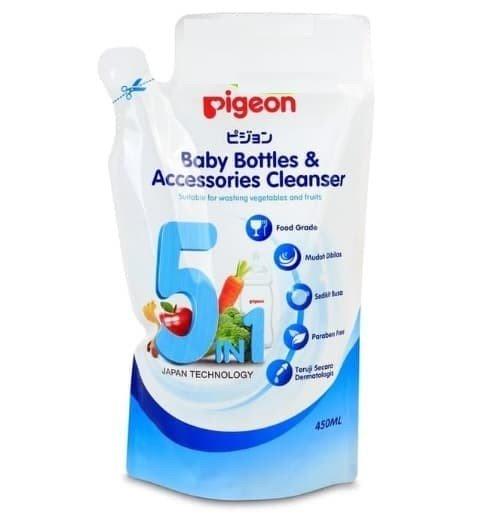 Pigeon Bottles and Accessories Cleanser 450ml Refill / Sabun Cuci Botol Bayi 19090095